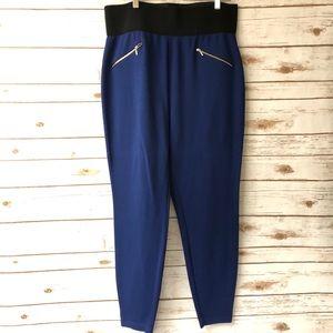 Plus Size High waist Skinny Pants